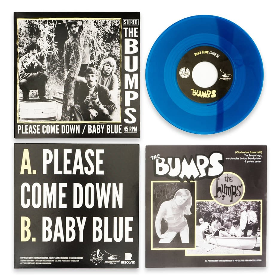 The Bumps - 50th Anniversary Re-Issue: Please Come Down / Baby Blue (7