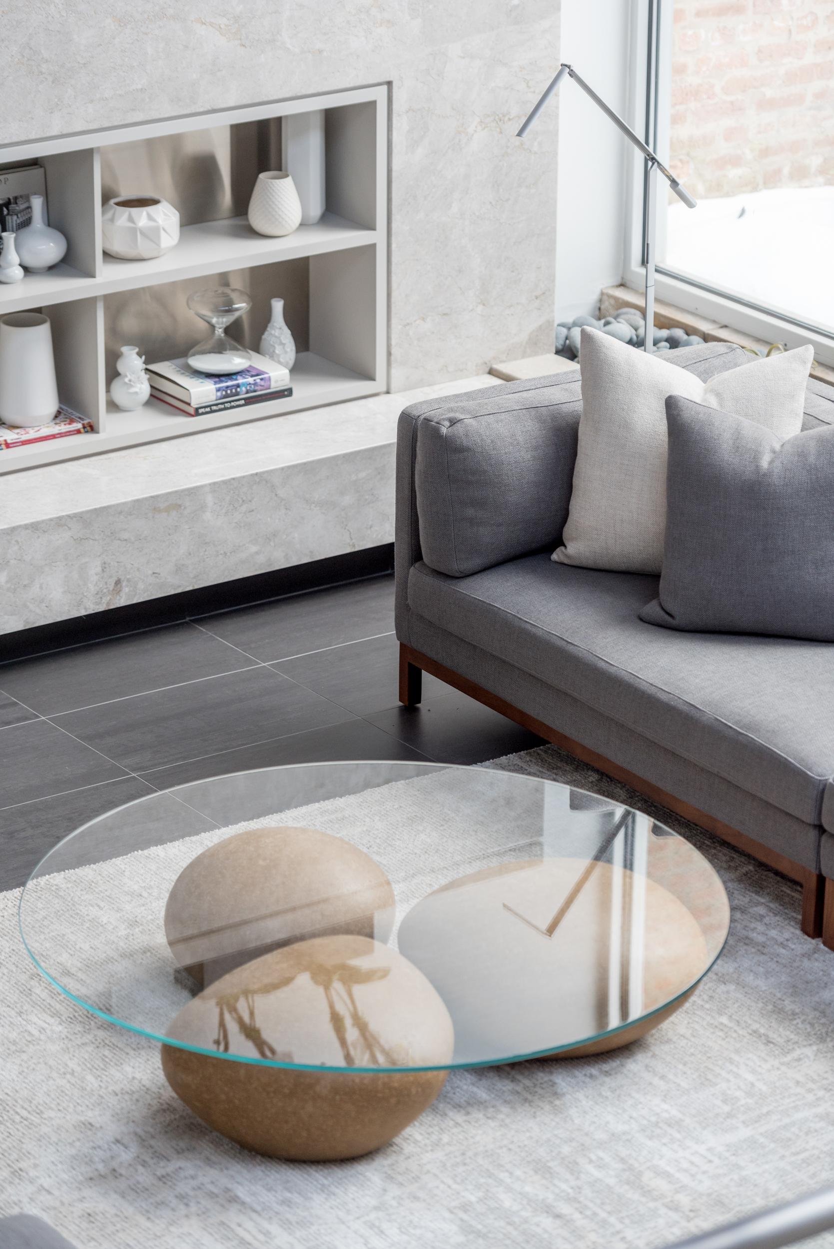 Mesa água coffee table - natural — sossego