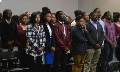 High School Honorees Attend the 2018 Ceremony