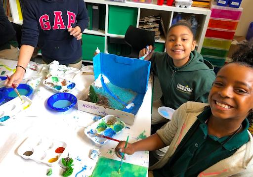 为学生的选择和声音而设计——塔莎·普拉, 2018 - 2019年的助教, 前做, 艺术, 在LODESTAR担任设计老师, 灯塔社区特许学校