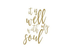 photograph regarding It is Well With My Soul Printable named It Is Effectively With My Soul Printables (5 Coloration Pack) t.His Rock This Revival