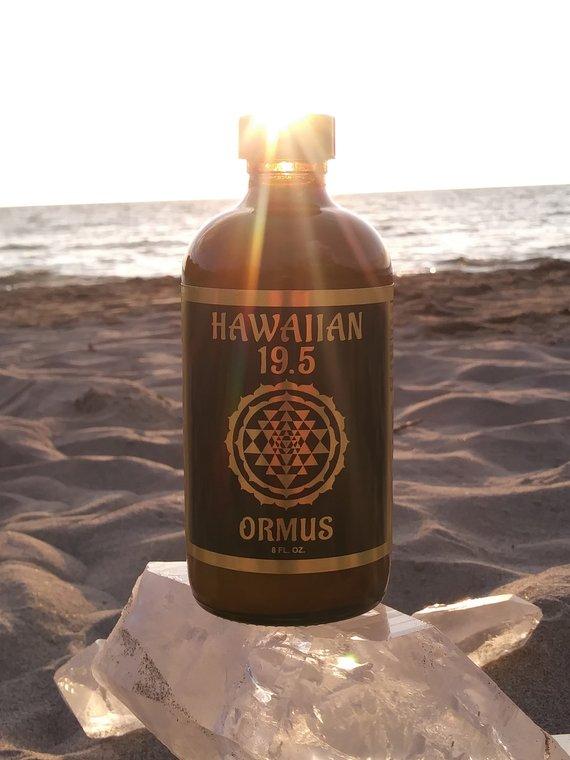 Hawaiian 19 5 Ormus 8oz bottle