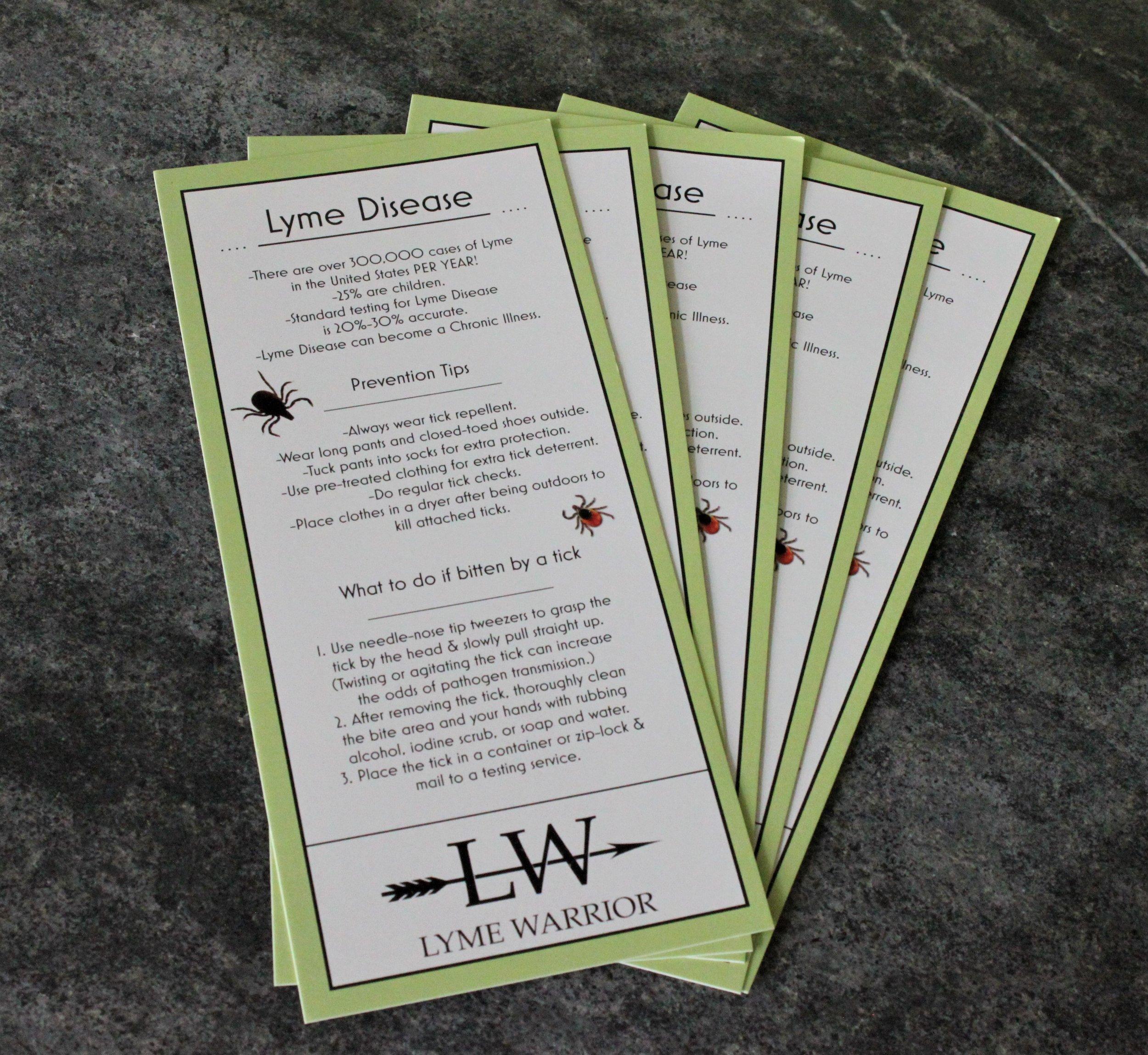 Lyme Awareness Cards — Lyme Warrior