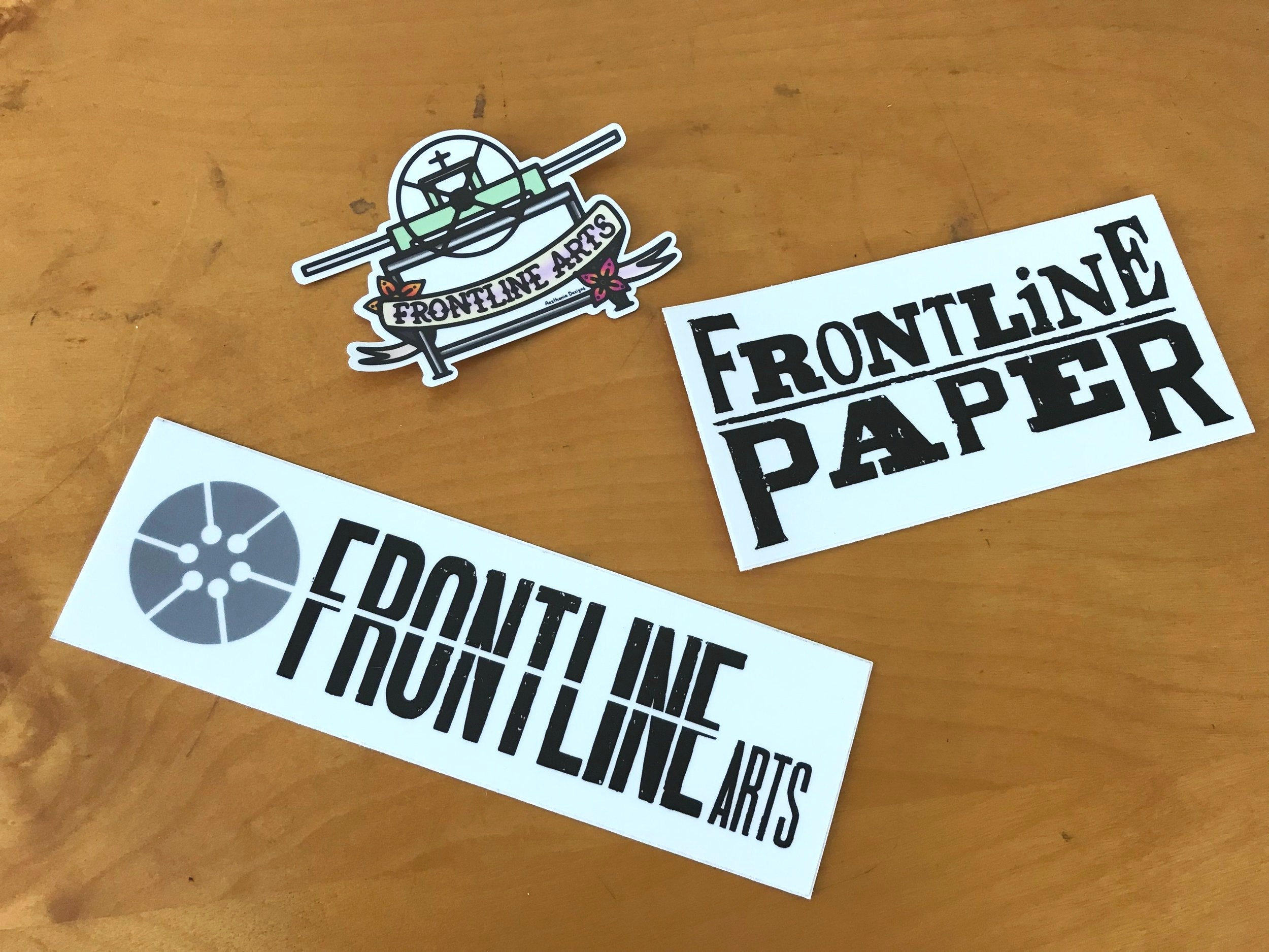 Vinyl Stickers — Frontline Arts