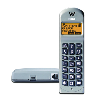 USB Powered Cordless Phone System — RCA by Telefield