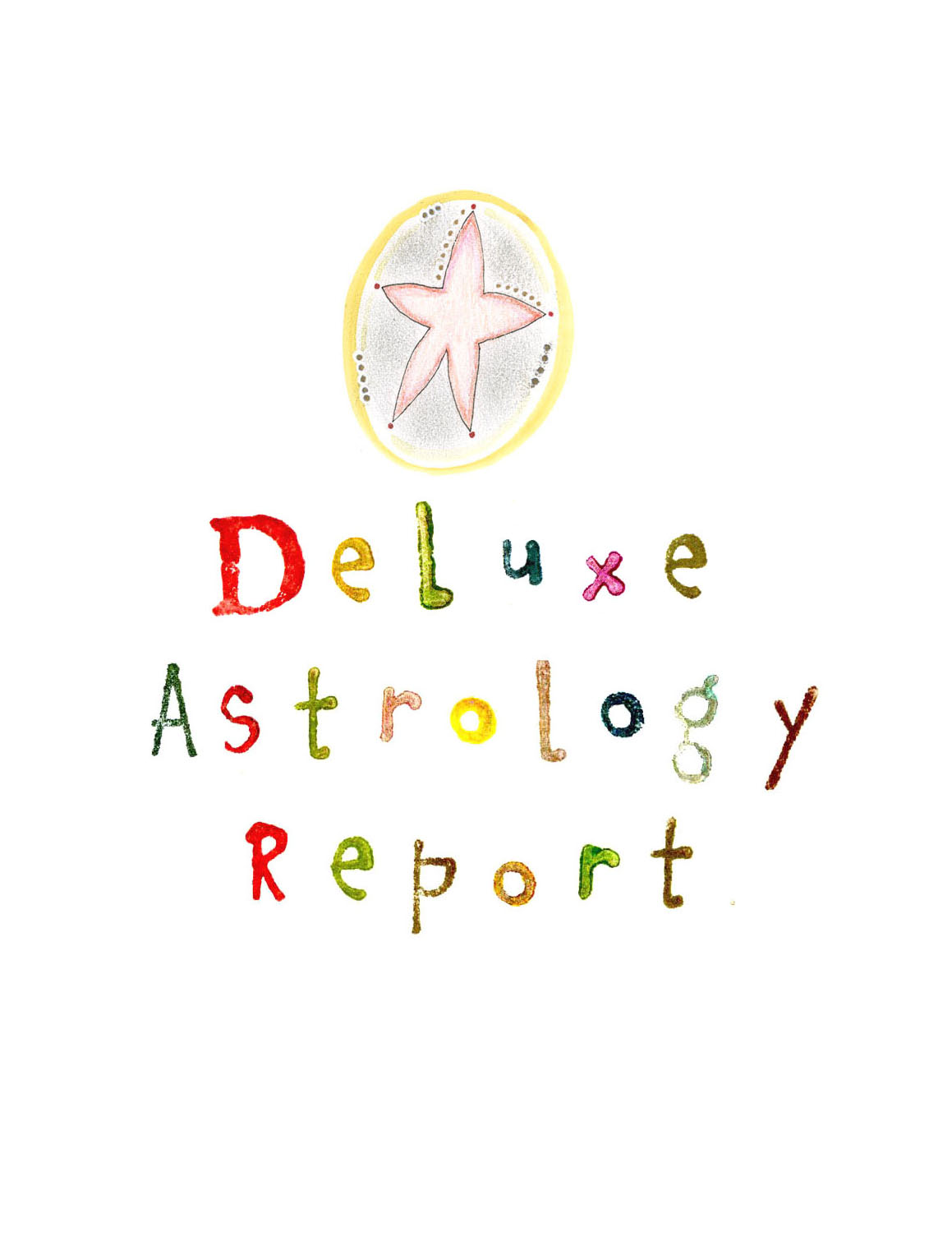 Deluxe Astrology Report $50 — Kathy Crabbe