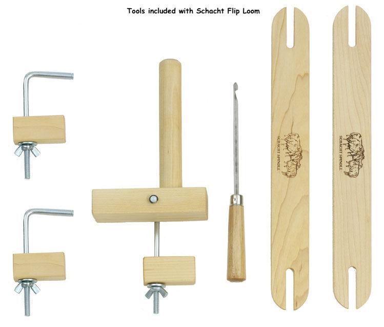 Schacht Flip Rigid Heddle Weaving Loom — Fiber to Yarn