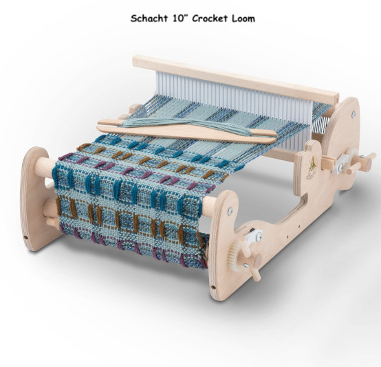 Schacht Cricket Rigid Heddle Loom — Fiber to Yarn