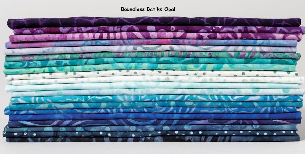 "100 /% Cotton  /""Shades of the Rainbow/"" 20 Half Yard Bundle"