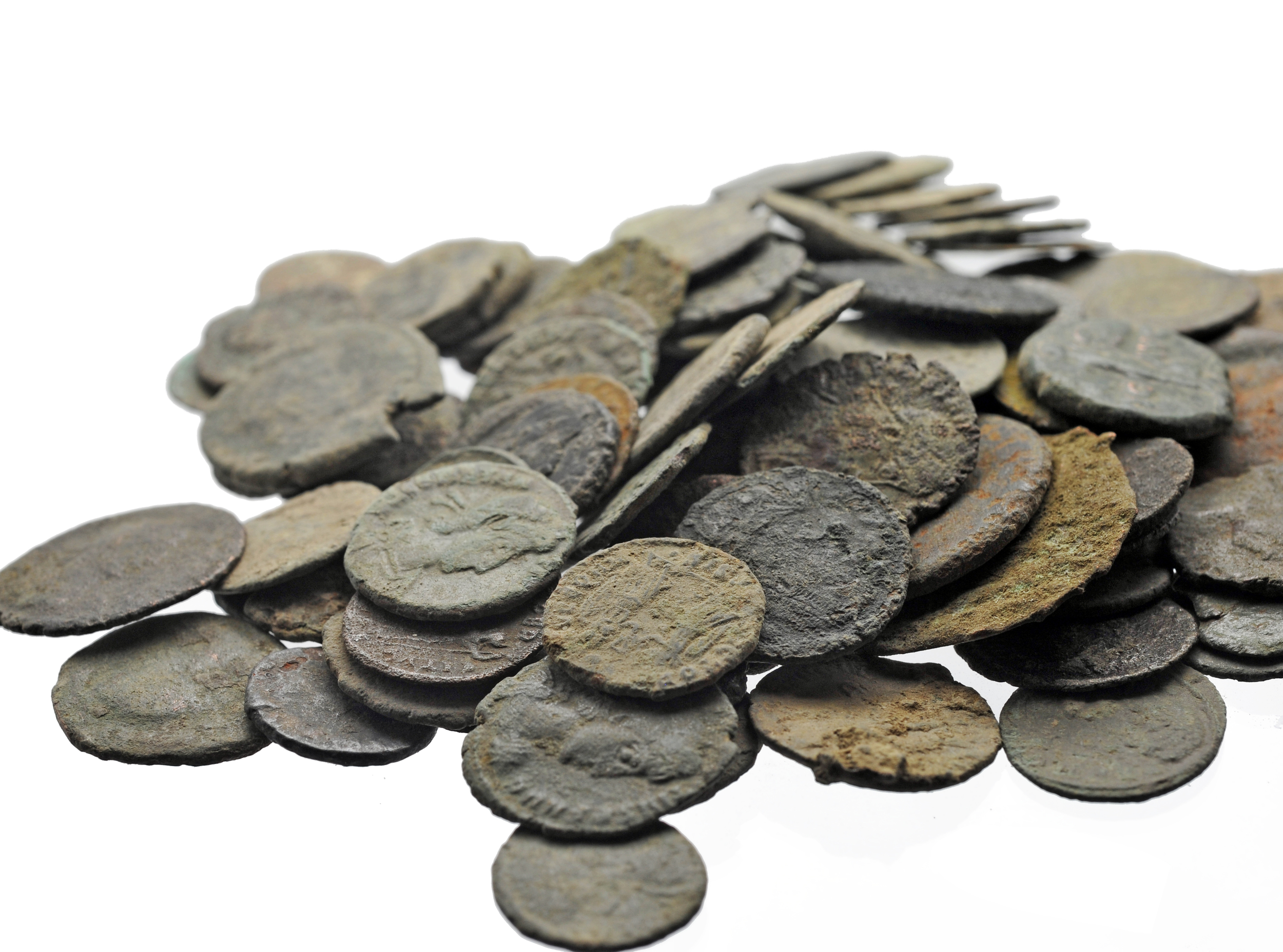 Uncleaned Roman Coins: France — Dirty Old Coins
