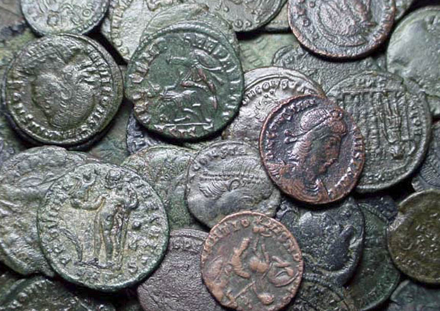 Restored Roman Coins — Dirty Old Coins