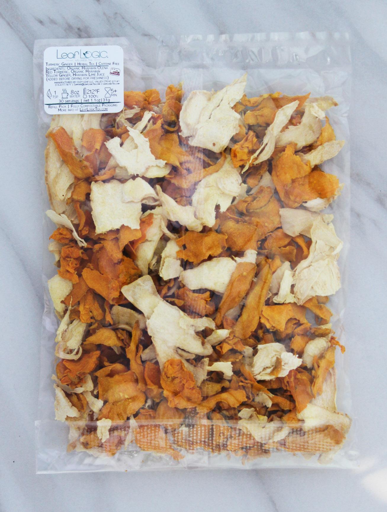 Turmeric Ginger — Leaf Logic Wellness Tea