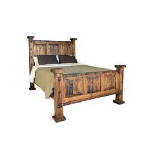 Rustic Oasis King Bed