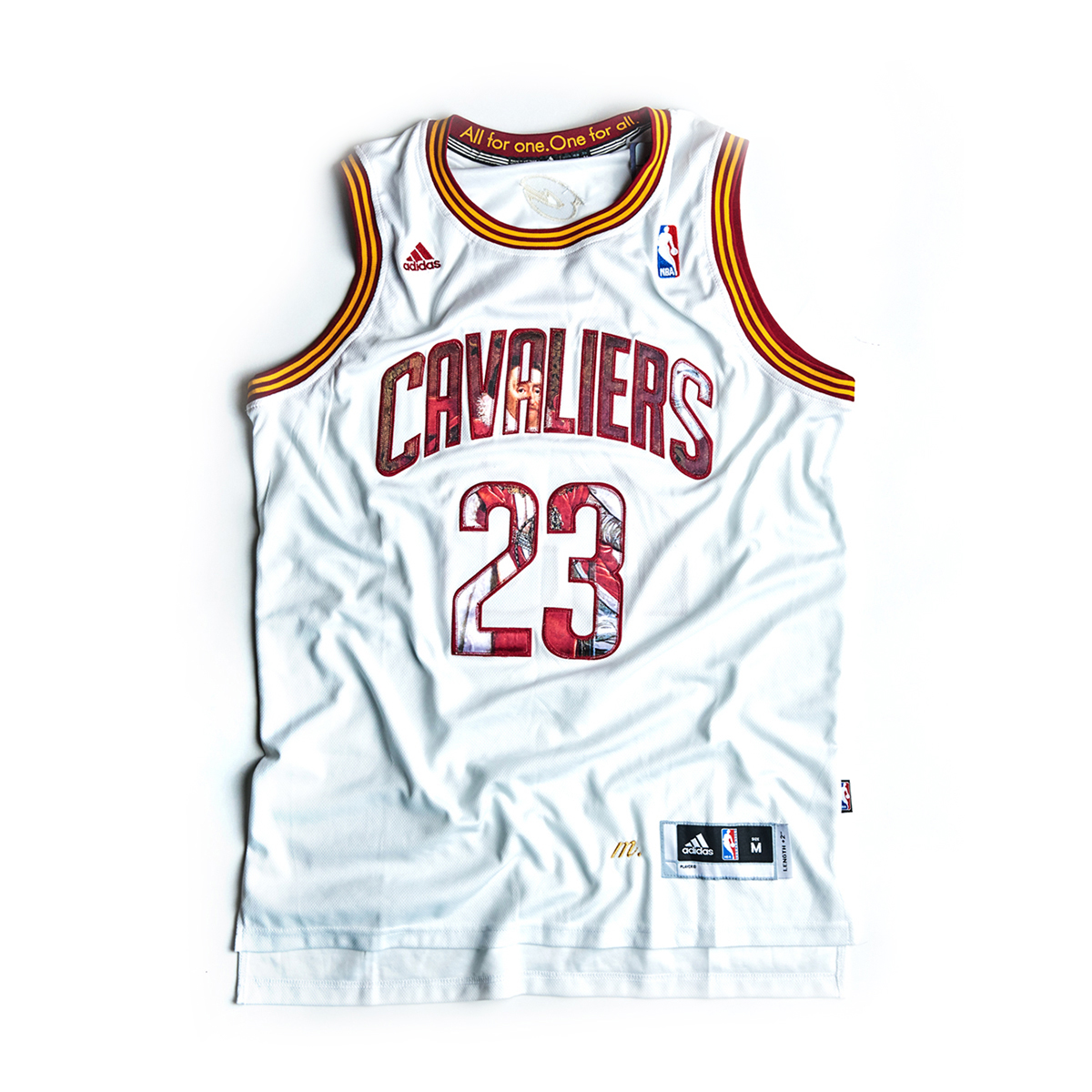 official photos 16dcb 09257 'King James' Customized Lebron James Jersey — MIEL Y NOIR • Customized  Jerseys and Street-Athleisure Apparel