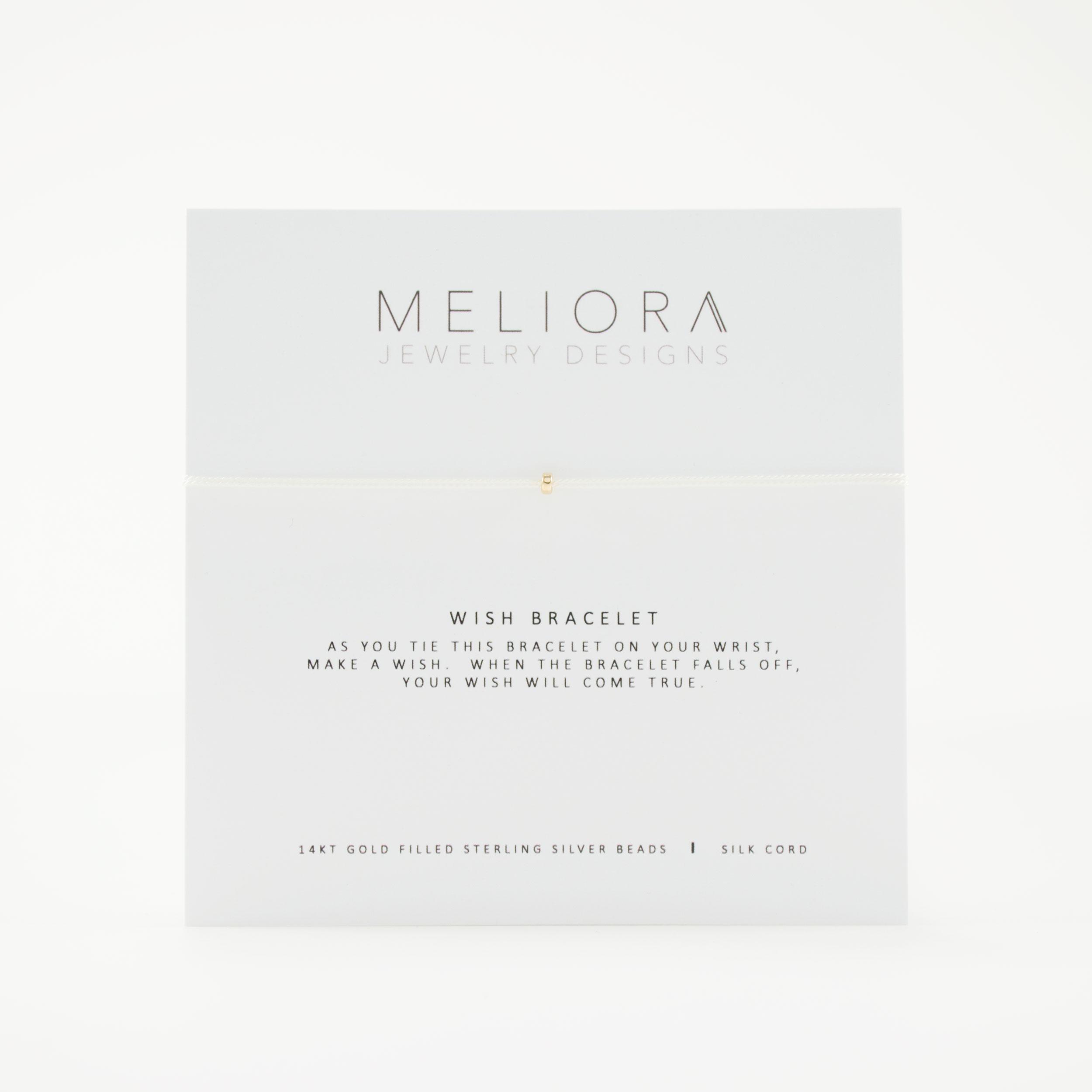 Wish Bracelet In 14k Gold Meliora