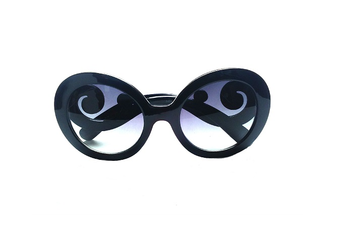 Black Designer Inspired Baroque Swirl Fashion Sunglasses Shop Handmade Fashion Jewelry Online Dallas Tx
