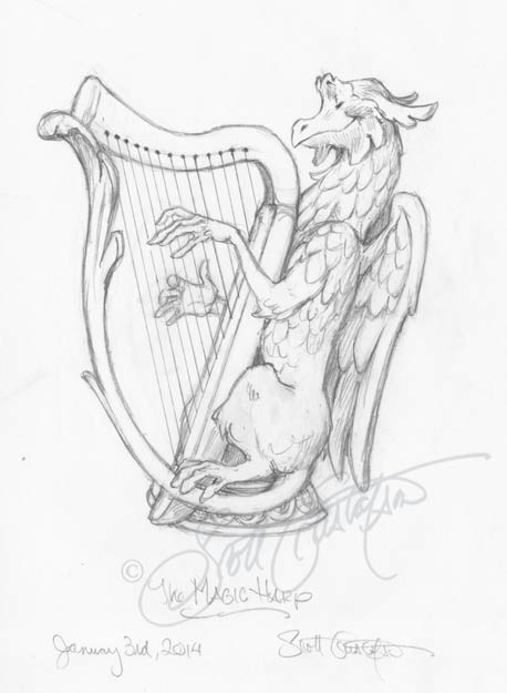The Magic Harp — The Art of Scott Gustafson
