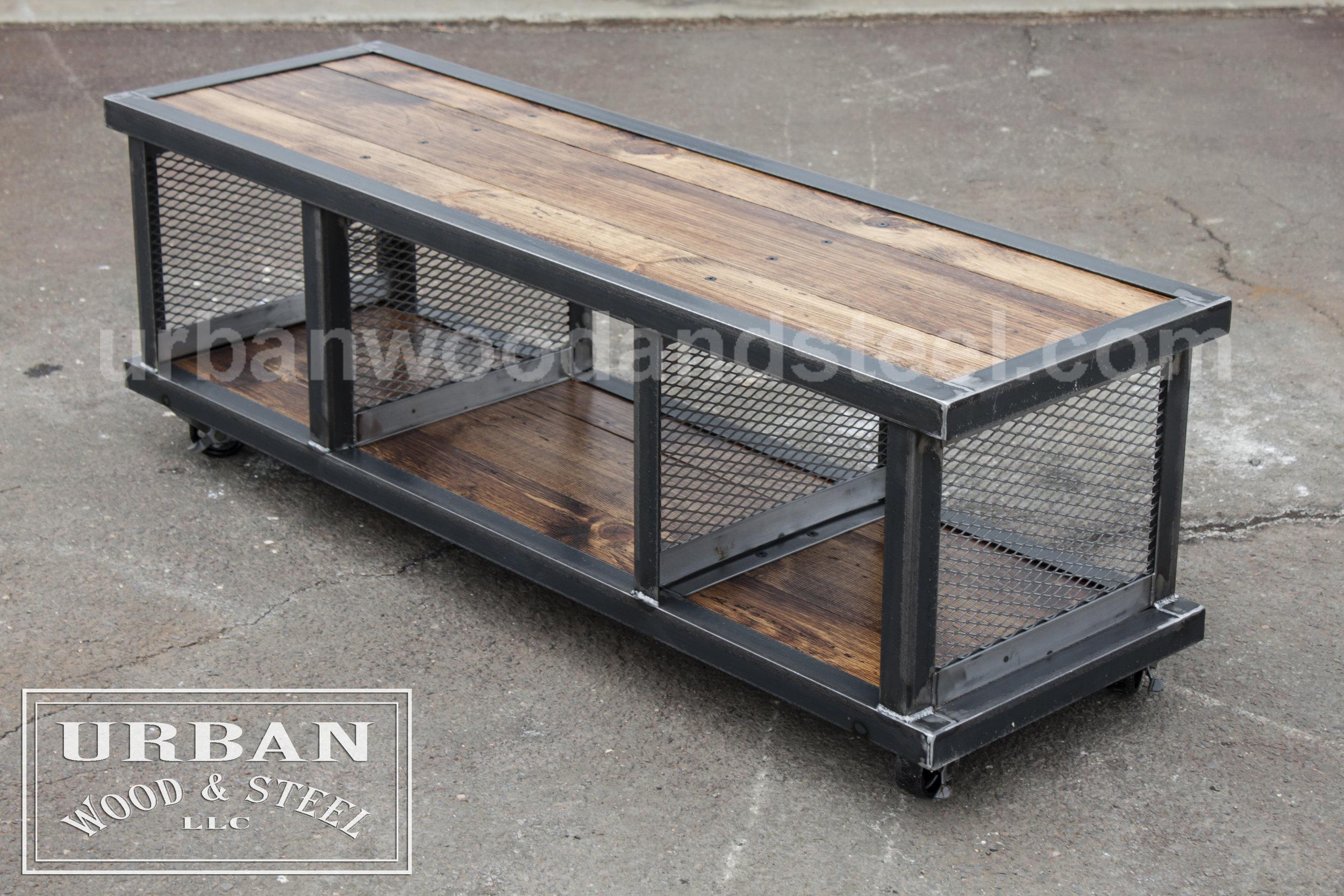Copley Urban Coffee Table Wood Steel Llc