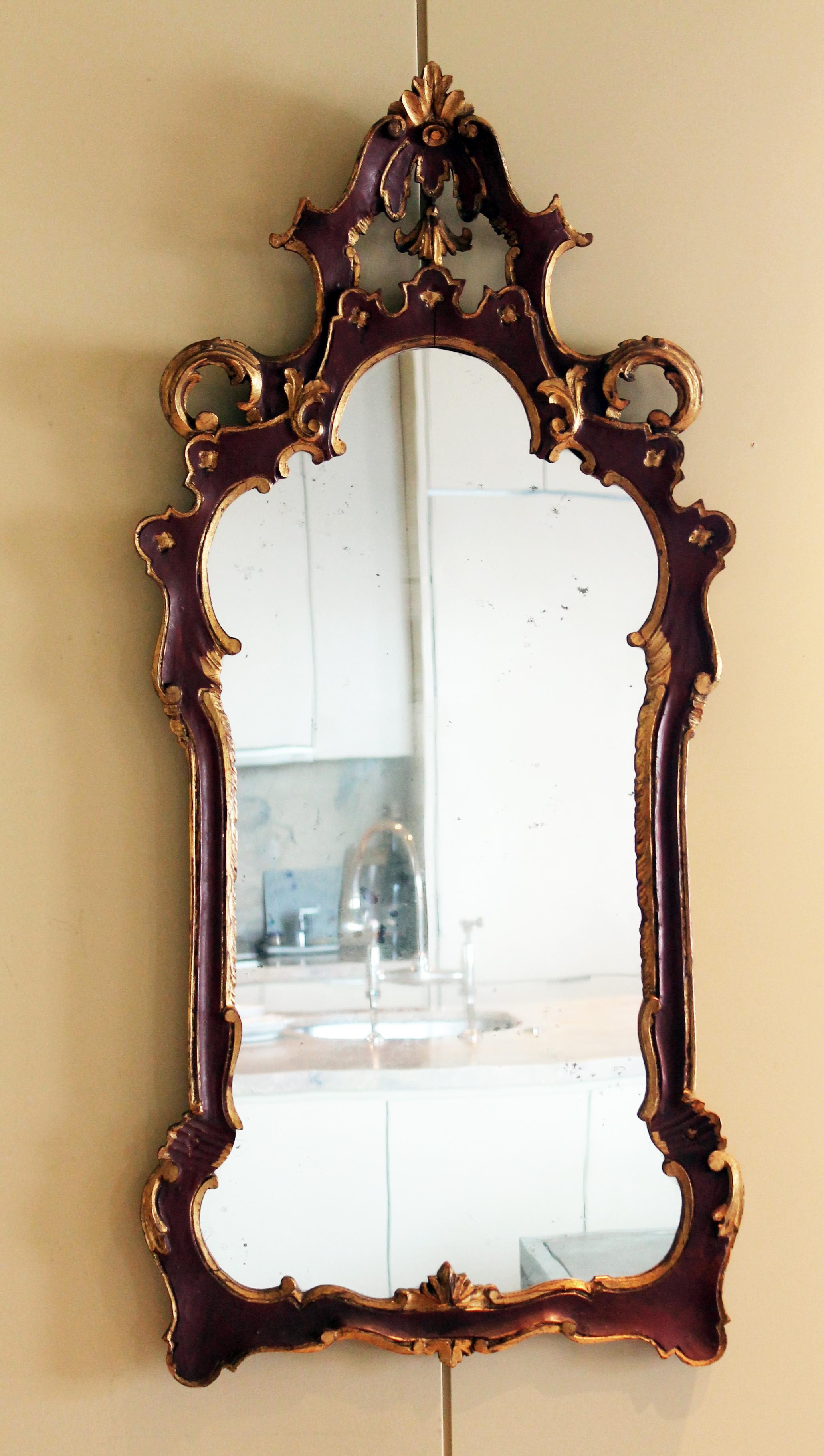 Antique Venetian Mirror C 1875 Paula Devon Raso