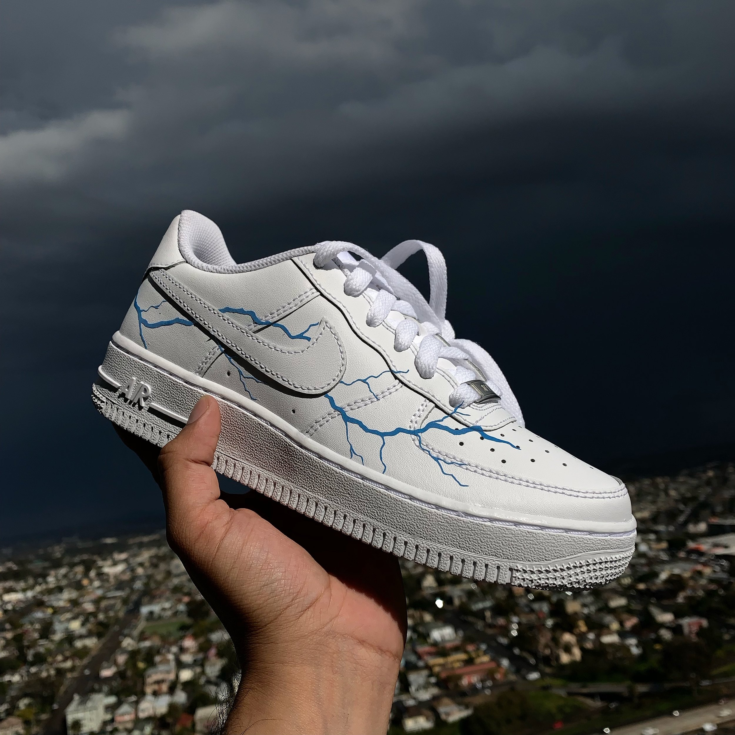 lightning air force 1 custom