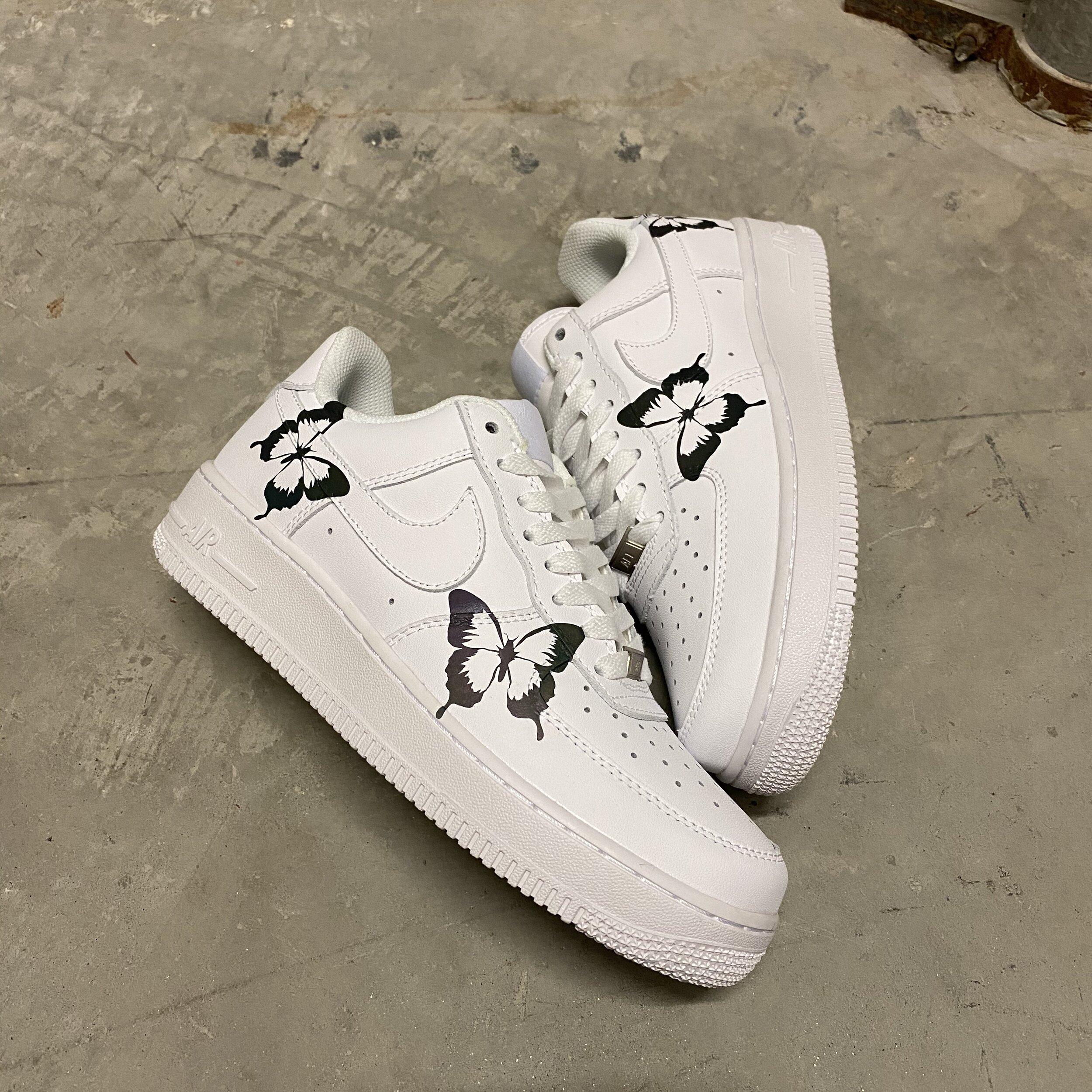 air force 1 custom of white