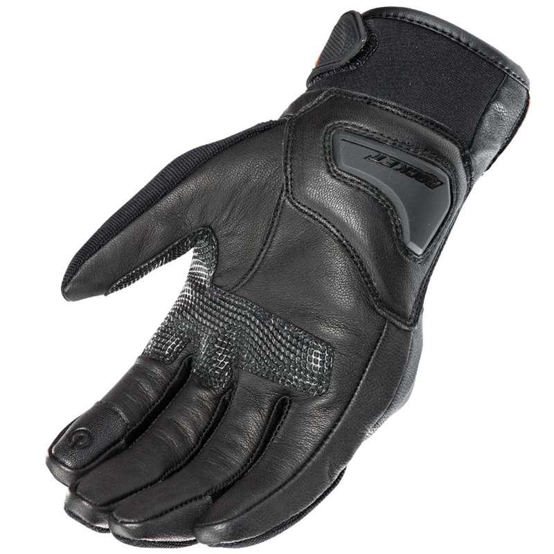 Joe Rocket White Super Moto Gloves Motorcycle Street Bike