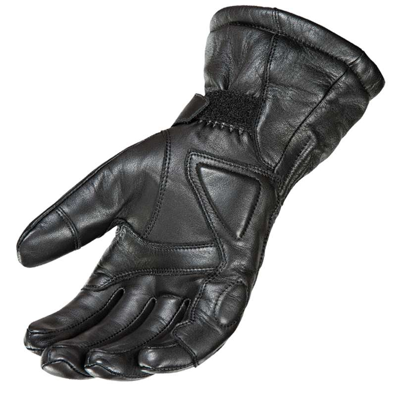 Joe Rocket Mens Black Sub Zero Textile Snowmobile Waterproof Gloves Snow