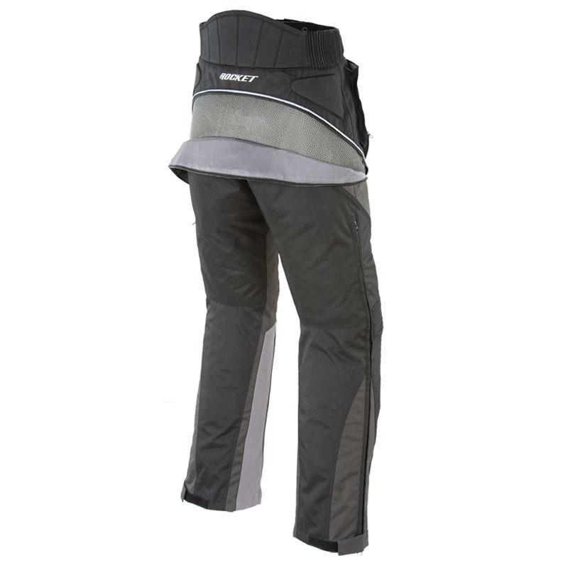 Black, Medium//Short Joe Rocket Alter Ego 2.0 Mens Textile Pants