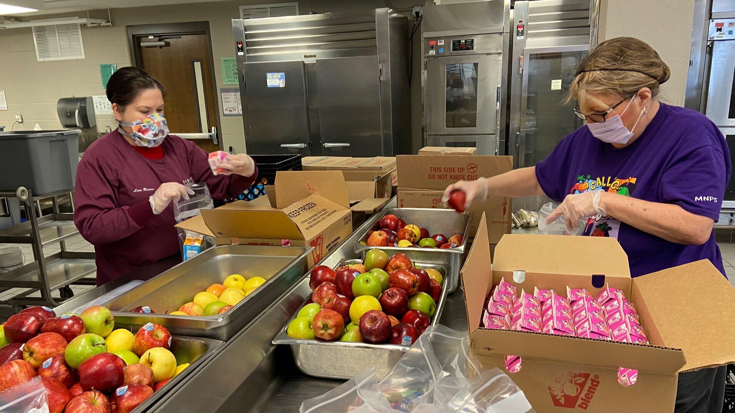 Honoring MNPS School Lunch Heroes