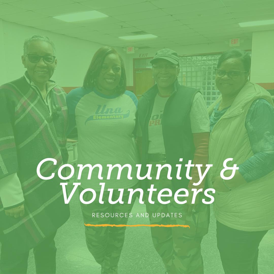 Community & Volunteers
