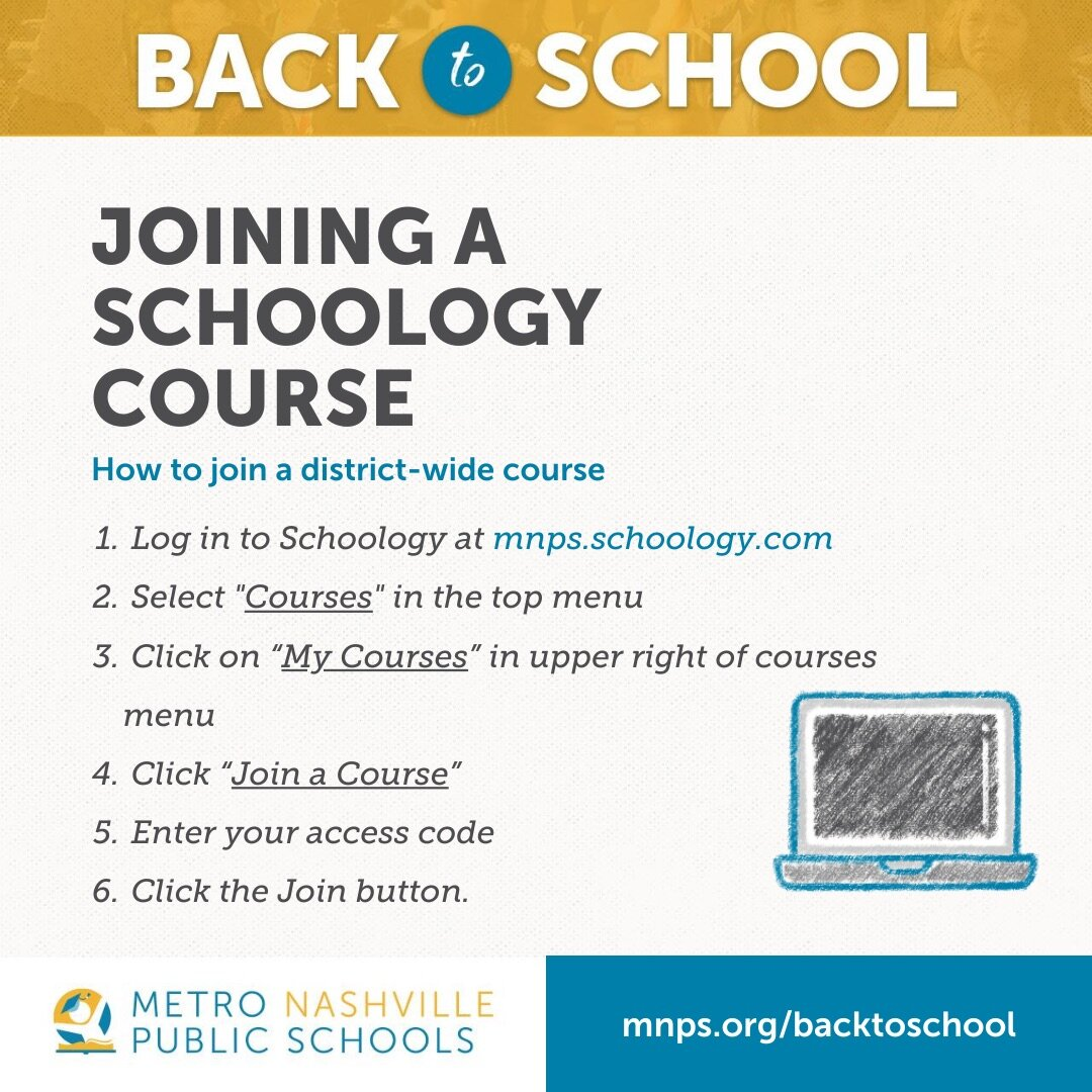 how to join a district wide schoology course