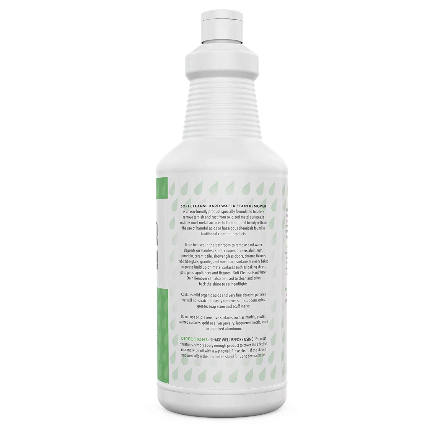 Hard Water Stain Remover (32oz) - Eco Friendly Versatile Cleaning Product