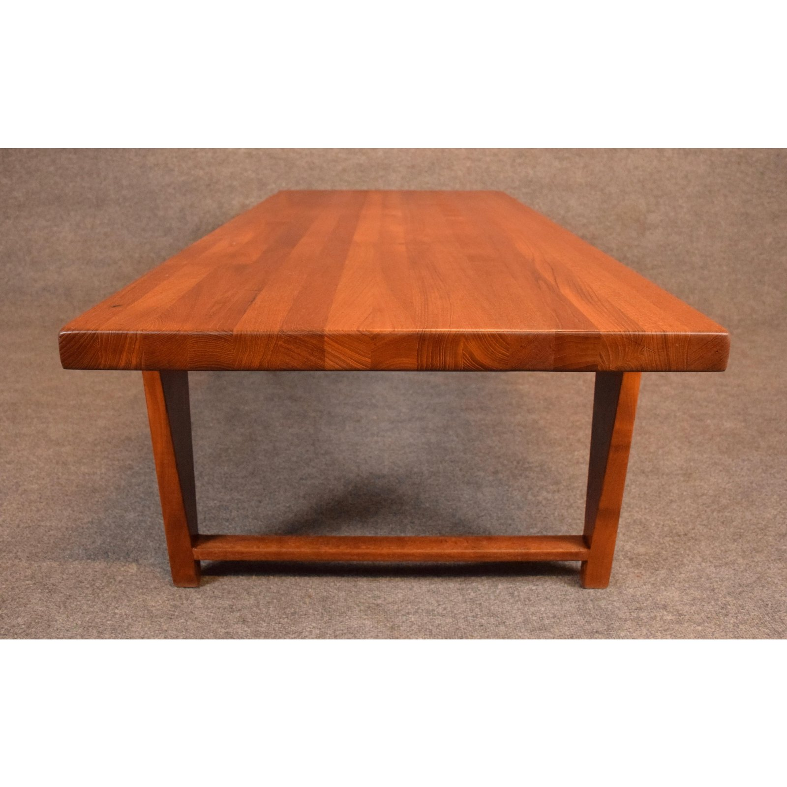 Vintage Danish Mid Century Modern Teak Coffee Table By Illum