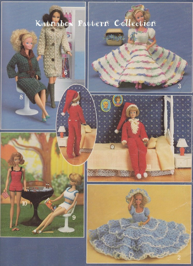 Crochet Doll Clothes & Shoes - Special Occasion Fashions for 18-inch Dolls  Crochet Pattern Book   540x391
