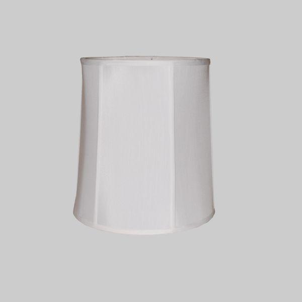 Tall Drum Silk Lampshade, Tall Barrel Lamp Shades