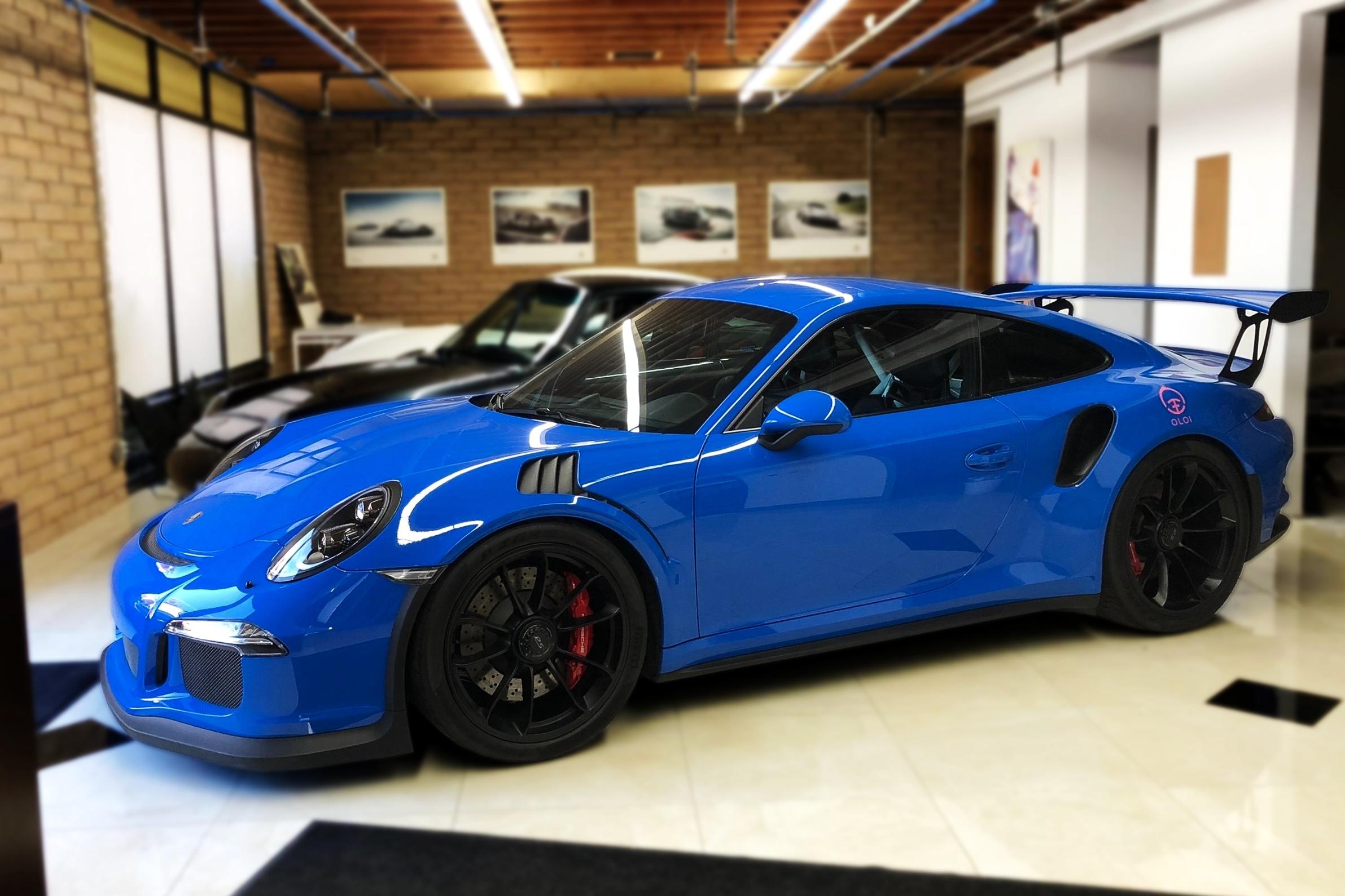 2016 Porsche 911 GT3RS (Voodoo Blue) \u2014 SP Motorsports