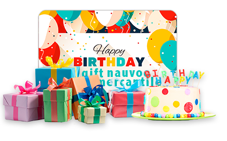 Happy Birthday Gift Card - Arrives in