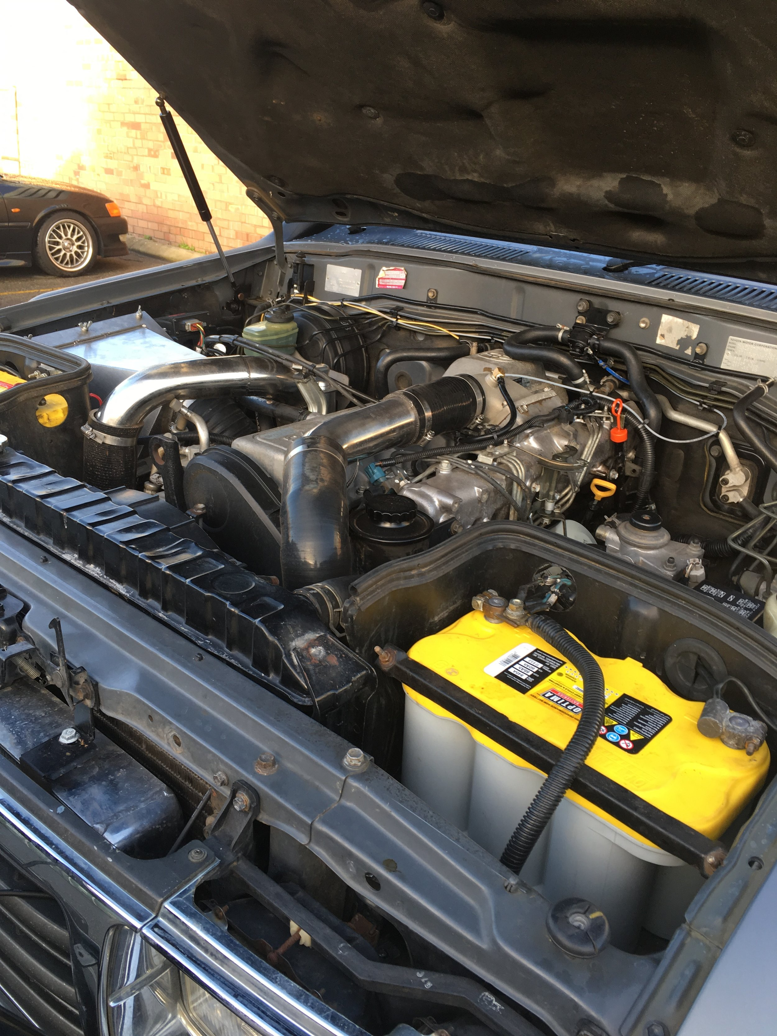 Landcruiser 80 Series Front Mount intercooler — Performance Diesel  Intercoolers