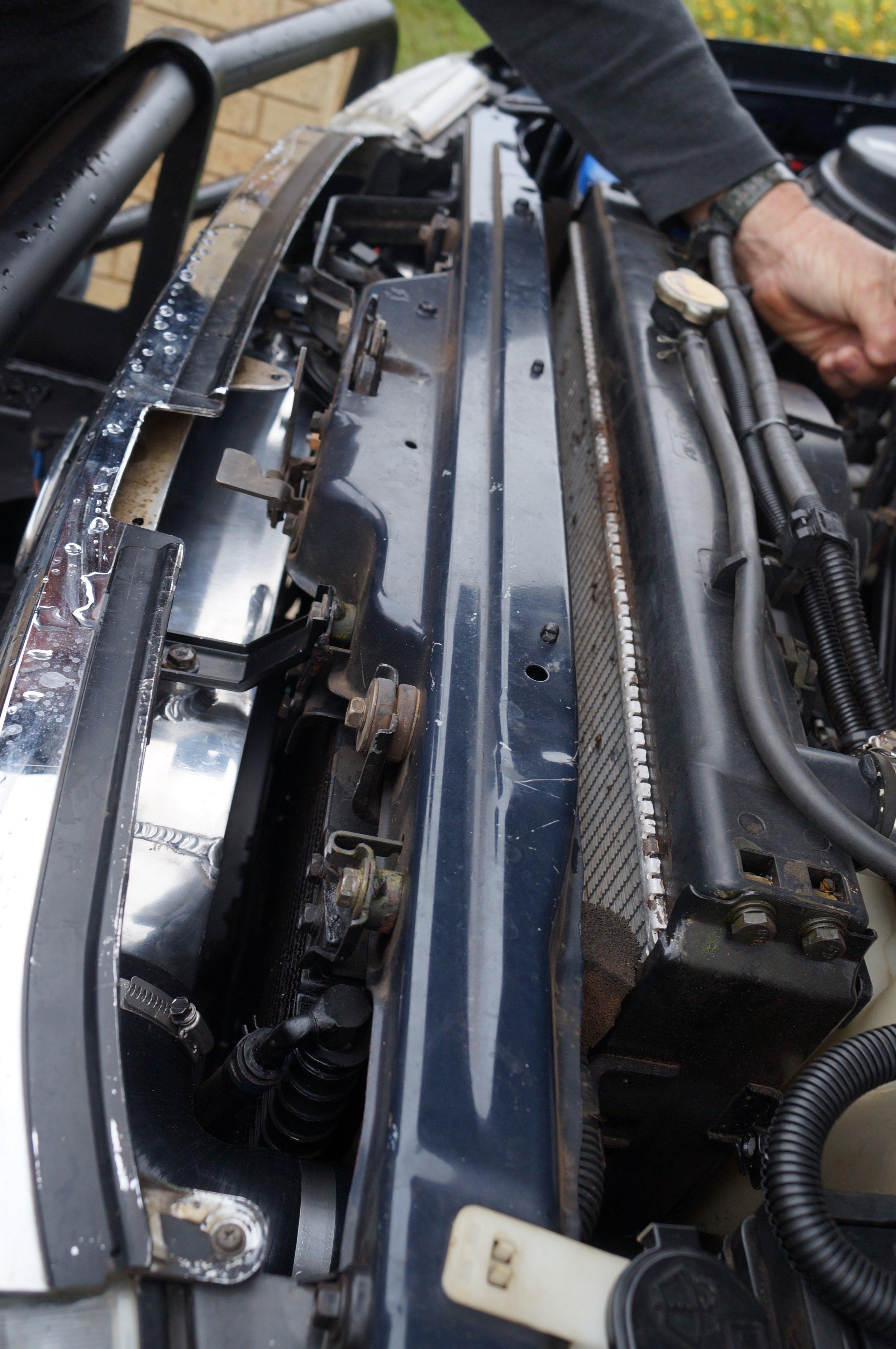 Landcruiser 100 / 105 Series Front Mount Intercooler — Performance Diesel  Intercoolers