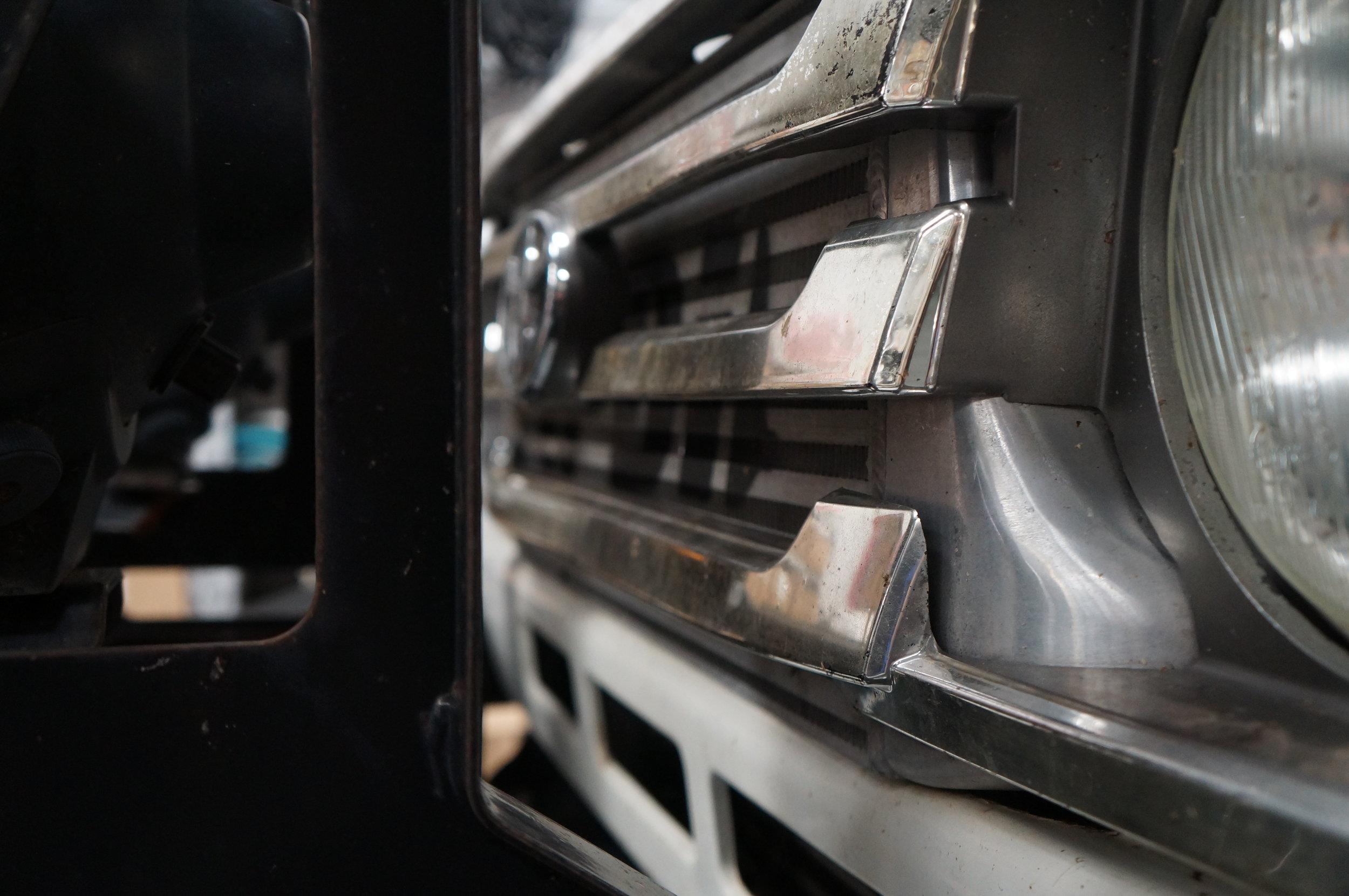 Landcruiser HDJ79 Front Mount intercooler Kit HDJ78 / HDJ79 / HZJ75 / HZJ79  — Performance Diesel Intercoolers