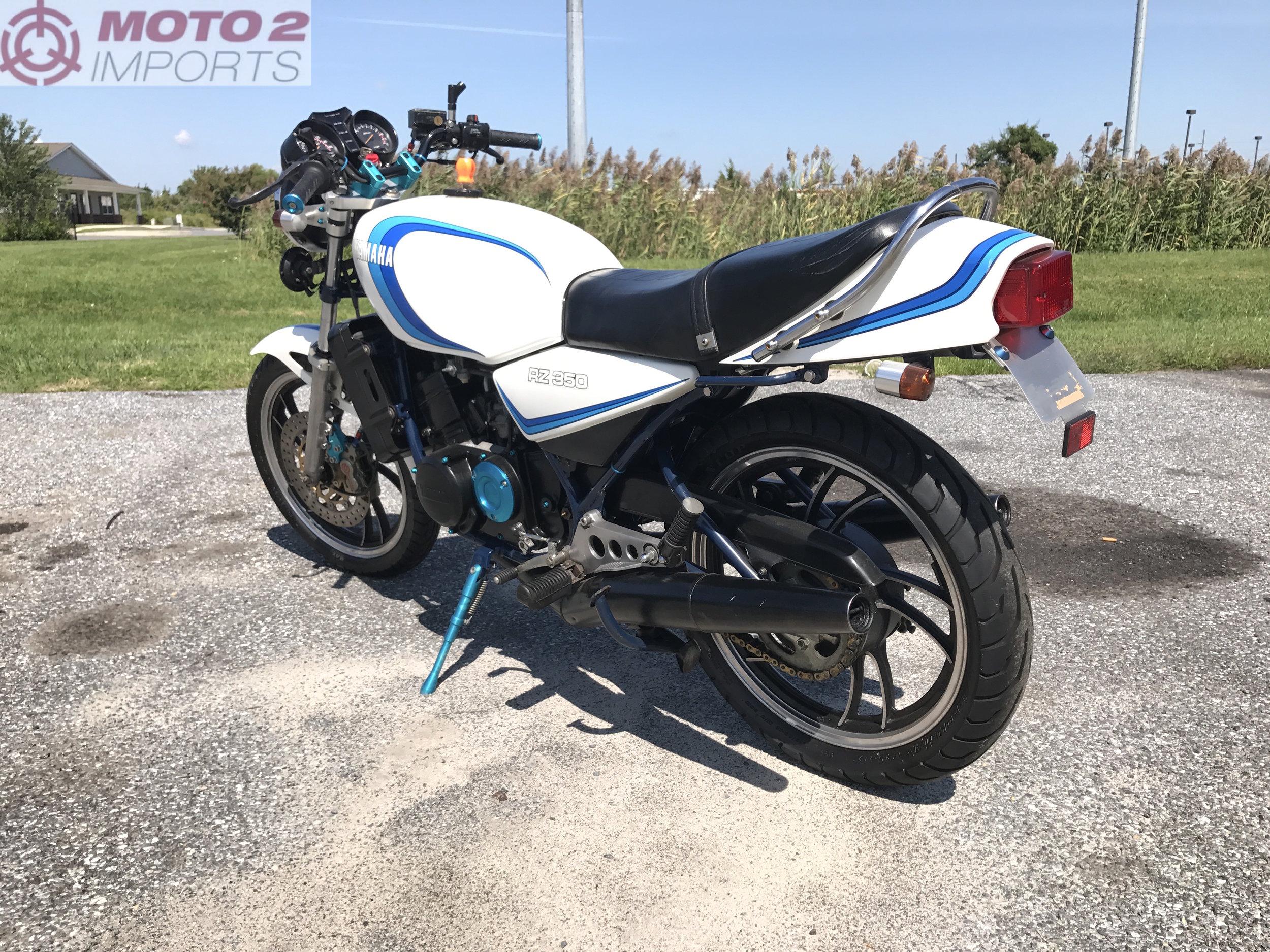 1981 Yamaha RZ350 - SOLD — Moto2 Imports