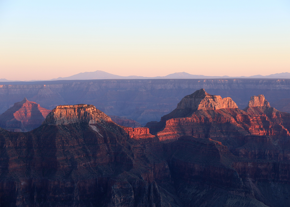 Sunset At The North Rim Grand Canyon National Park Out In The Parks