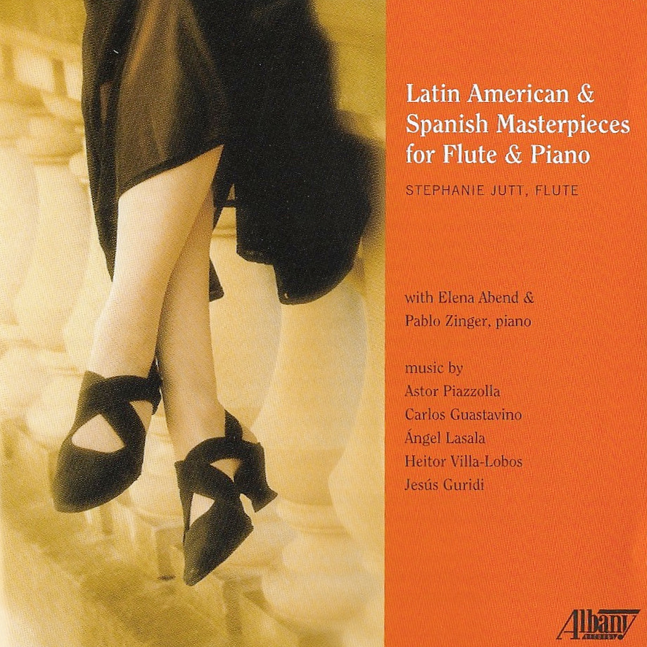 Latin American & Spanish Masterpieces for Flute & Piano — Stephanie Jutt
