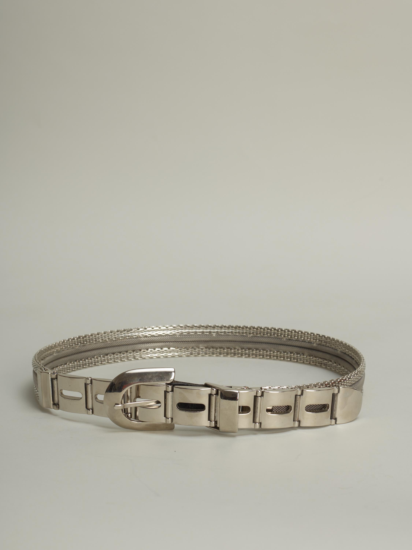 Vintage Metal Belt Palindrome Paris
