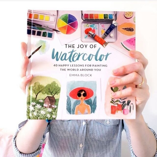 I finally have an update! The Joy of Watercolour has been reprinted (for the sixth time!) and is now back in stock in most major retailers. At this time it's now available on Amazon in the UK and the US, and on the Barnes and Noble  网站  in the US. Whilst it is available on Amazon, Amazon aren't prioritising the shipping of books at the moment, because they don't consider them essential (I'd disagree, books are such a lifeline for so many at the moment). Now is a great opportunity to support a dedicated book retailer. You could use Indie Bound or Bookstore.org in the US or Hive in the UK to find a local independent bookshop that has it in stock. Every purchase makes such a difference to small businesses at this time. I hope that everyone who was looking for a copy has managed to find one! It has taken a little while for the book to make its way into shops and onto  网站 s, so you so much for your patience guys! Happy  绘画 ! #joyofwatercolor #thejoyofwatercolor #joyofwatercolour #emmablockillustration #watercolours #watercolors #learnwatercolors