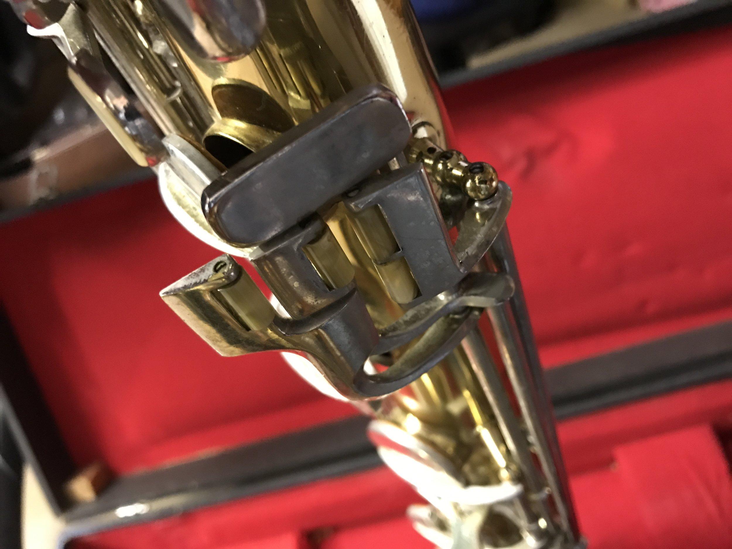Saxophones-120 Conn 12M Baritone Saxophone