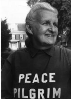 Peace Pilgrim in Buffalo New York 1972