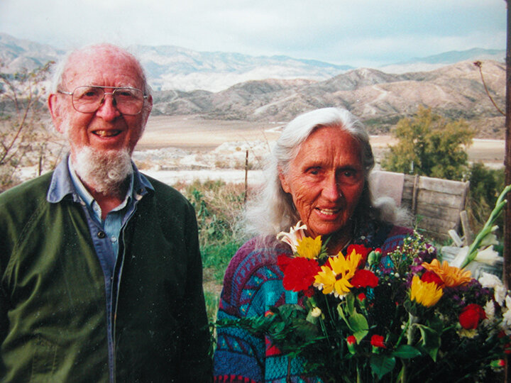 The late John and Ann Rush hosted the Peace Pilgrim Center in their California homes for over two decades.