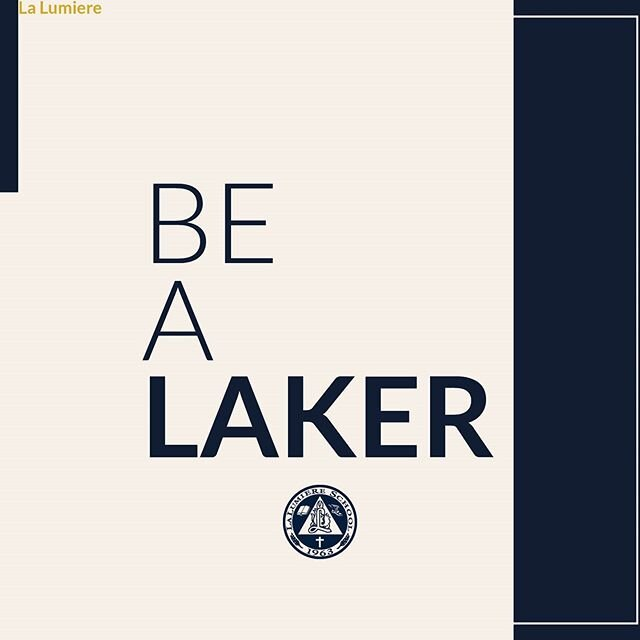 At La Lumiere, there's no one right way to be, but there are unique opportunities for everyone. Our students choose La Lumiere because they want to be challenged, to discover their full potential, and to become the best versions of themselves. Start the application process for the 2020-2021 school year by following the link in our bio.