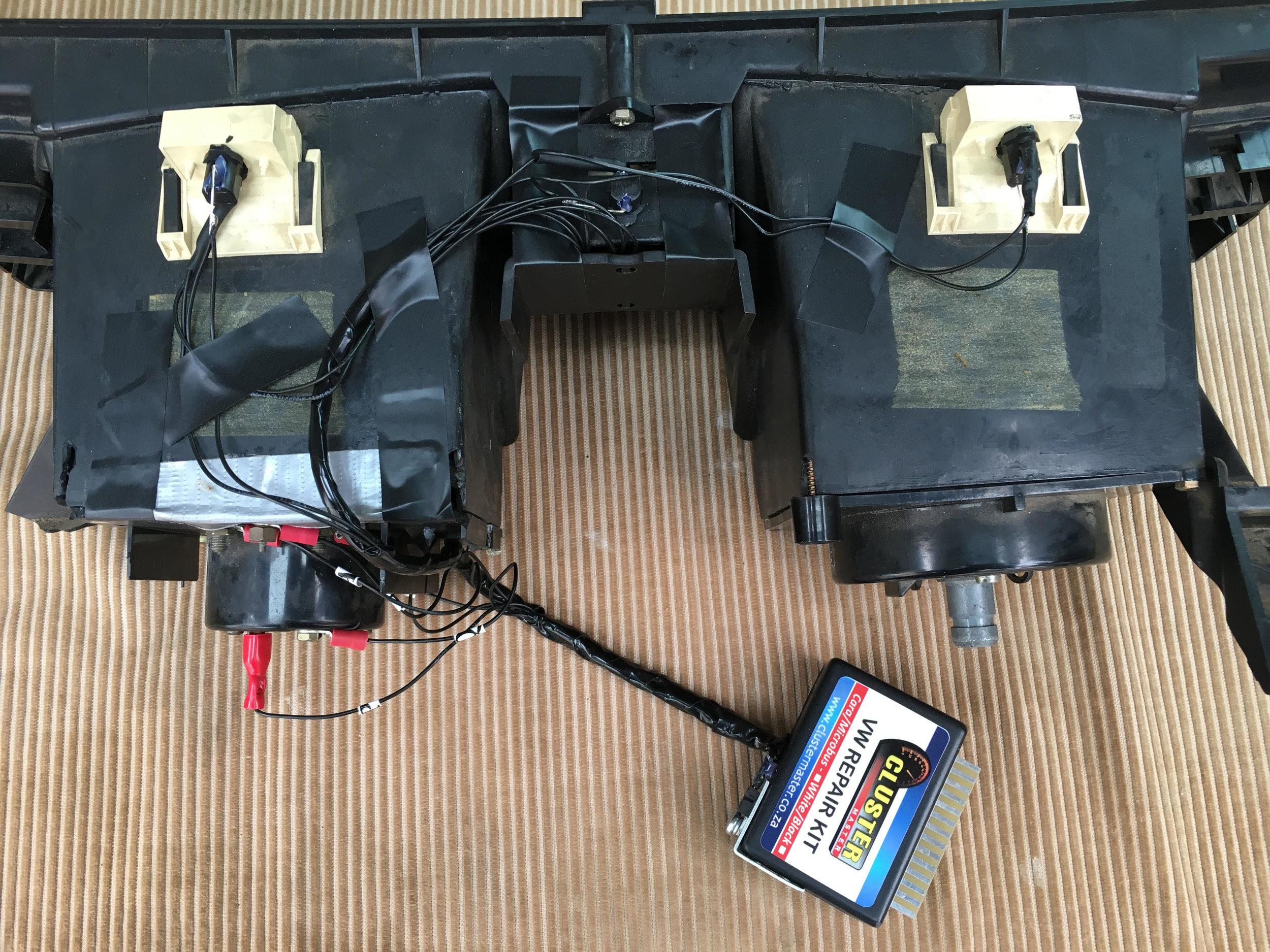 Instrument Cluster Foil Repair Kit — Vanagon org